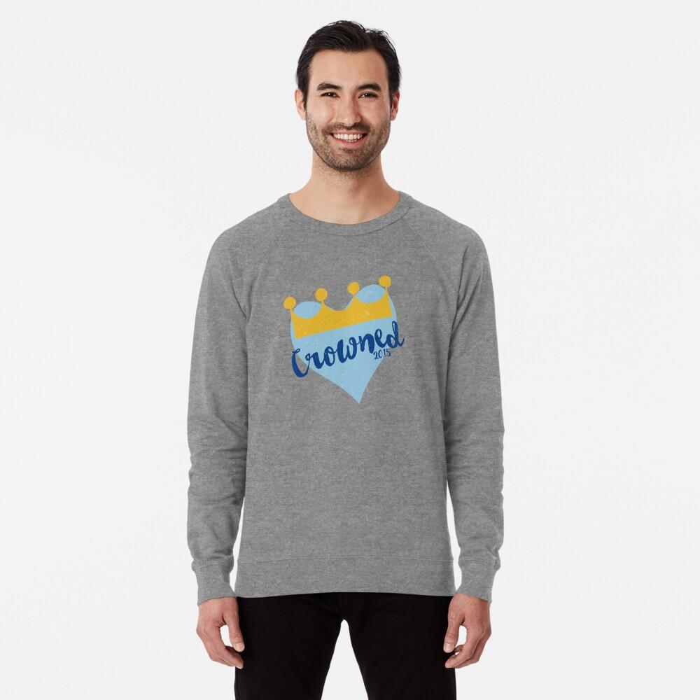 Crowned 2015 Lightweight Sweatshirt Front