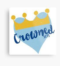 Crowned 2015 Metal Print