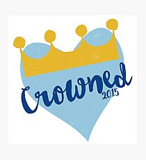 Crowned 2015 Photographic Print
