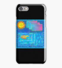 Vaporwave-Ocean Blues iPhone Case/Skin