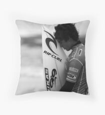 Gabriel Medina Throw Pillow