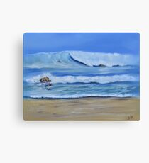Tweed Heads Surf Canvas Print