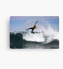 Kelly Slater- Winkipop Canvas Print