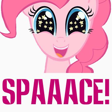 Pinkie Pie is in SPAAACE! by quickgroth