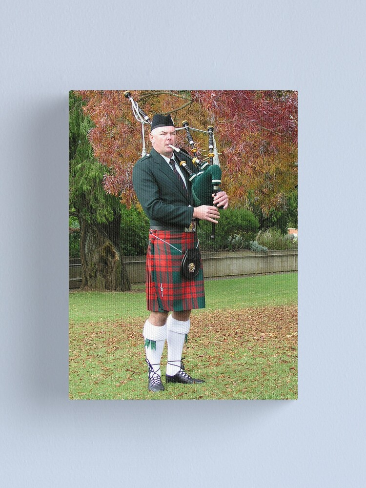 Alternate view of Lone Piper Canvas Print