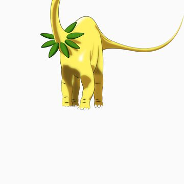 Pokesaurs - Bayleef by trekvix