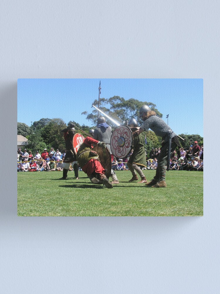 Alternate view of Highland Games New Zealand 2004 Canvas Print