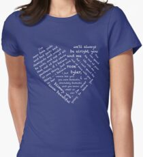 Quotes of the Heart - Doctor/Rose (White) T-Shirt