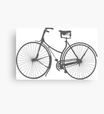 Ride on Gray Canvas Print