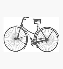 Ride on Gray Photographic Print