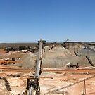 Telfer Gold Mine, Western Australia. by Daniel Carr