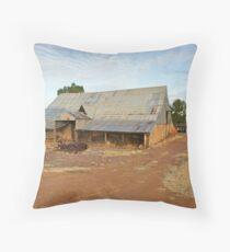 Marwicks Barn Throw Pillow