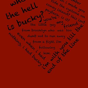 Quotes of the Heart - Stucky (Black) by fairy911911