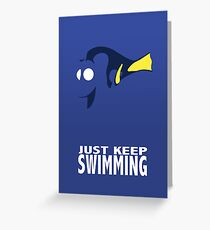 Almost Dory Greeting Card