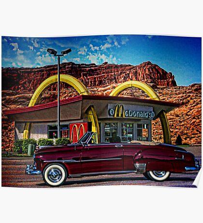 1951 Chevrolet Convertible Poster