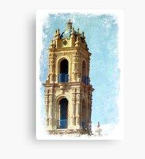 Plaza Details Canvas Print