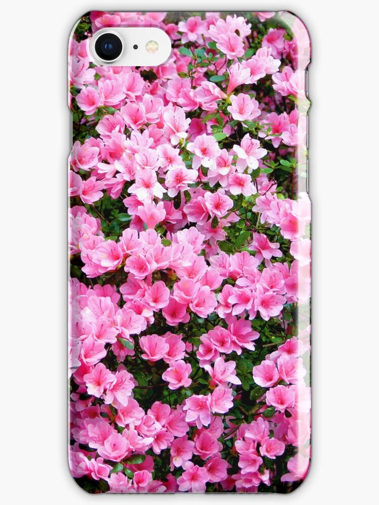Azaleas - phone skin and iPod case by Scott Mitchell