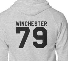 Dean Winchester (Jersey) Zipped Hoodie