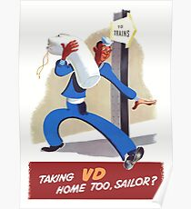 Taking VD Home Too, Sailor? Poster