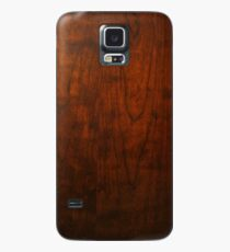 Mahogany Wood Texture  Case/Skin for Samsung Galaxy