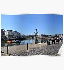 Exeter Quays, Exeter, Devon UK Poster