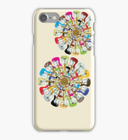 I Love Electric Guitars iPhone Case/Skin