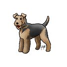 Airedale  by Jennifer Stolzer