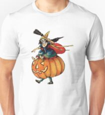 Queen Reaper (Vintage Halloween Card) Unisex T-Shirt
