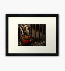 Join Me Won't You? Framed Print