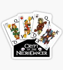 Cards of the Necrodancer Sticker