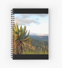 and down to the ezulwini valley Spiral Notebook