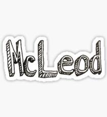 McLeod Sticker