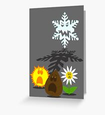 Winter is coming... 2 Greeting Card