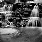 Paper Mill Falls Swirl by Jeff Palm Photography