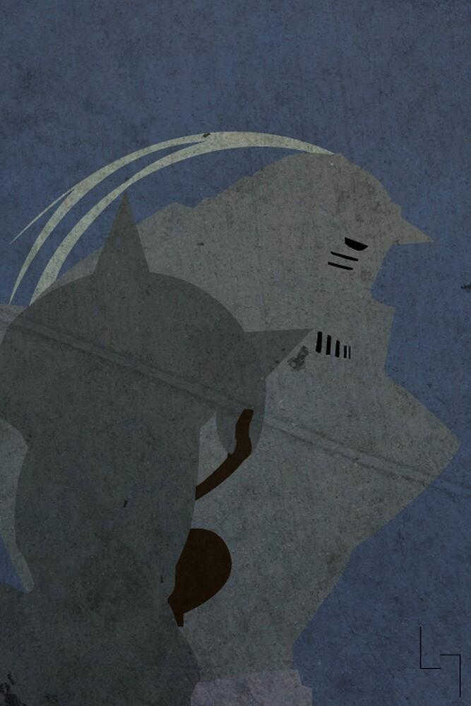 Alphonse Elric by jehuty23