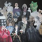Doctor Who Horde by Laura Mancini