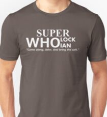 Superwholockian + quip Unisex T-Shirt