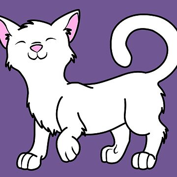 Happy White Kitten by Grifynne