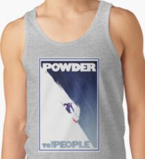 Powder to the People Men's Tank Top