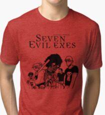 Seven Evil Exes Tri-blend T-Shirt