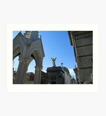 Angels and Crucifixes Art Print