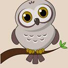 Owl Cutie by Frank Pena