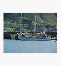 At the Harbour Apollo Bay Photographic Print