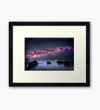 Galtic Rocks Framed Print