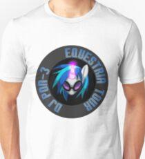DJ Pon-3 Equestria Tour Unisex T-Shirt