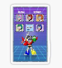 Mega Voltron Sticker