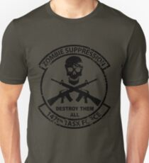 147th Zombie Suppression Task Force T-Shirt