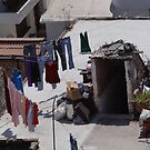 Drying Laundry at the Roof of the House - Secando Ropa en el Techo de la Casa by PtoVallartaMex