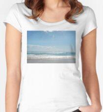 yeagerup beach, western australia Women's Fitted Scoop T-Shirt