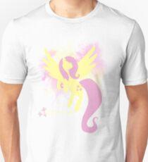 Fluttershy Silhouette Unisex T-Shirt